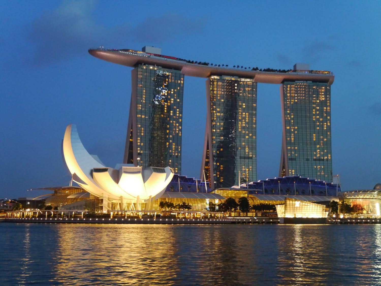 Helix Bridge Marina Bay Sands Design Lin