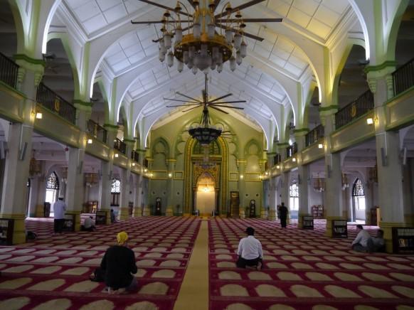 Sultan mosque at Bugis