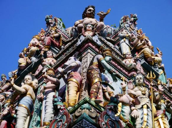 Hindu temple in Little India