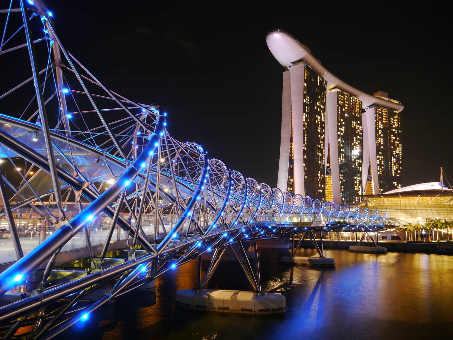 Marina bay sands design lin for Design bridge singapore