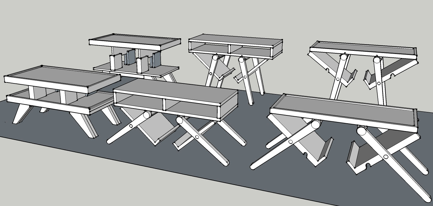tools used sketch up autocad carpentry tools my hands and sweat