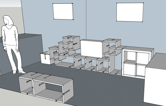 Modular Bookshelves