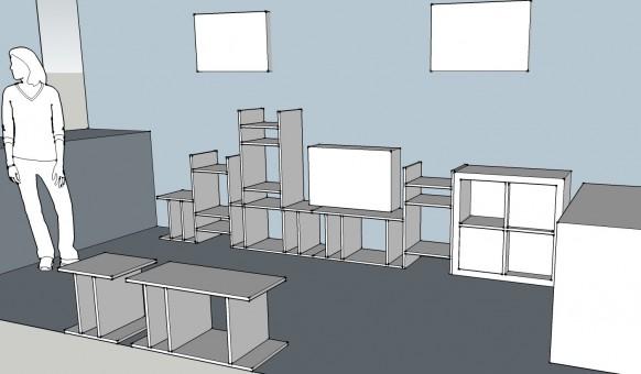Modular Bookshelves-V2